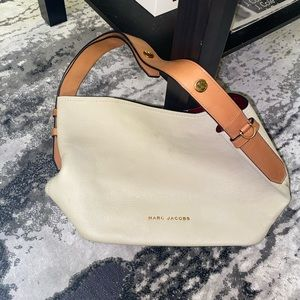 Leather Marc Jacobs shoulder bag